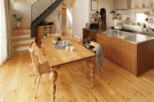 【kuriyaの家】<br>おはよう、ただいま、ごちそうさま<br>家族を見守るお母さんの台所が我家の中心