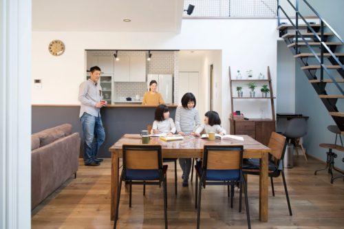 【池田建設】<br>暮らし心地良さと<br>格好良さにこだわった<br>男前インテリアの家