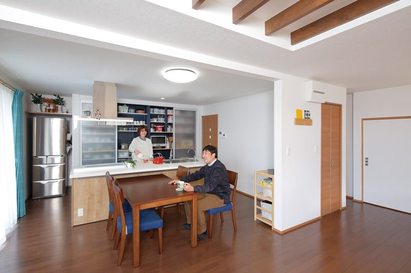 【アクトホーム】<br>全面リフォームで手に入れる<br>暮らしやすくて開放的な住まい