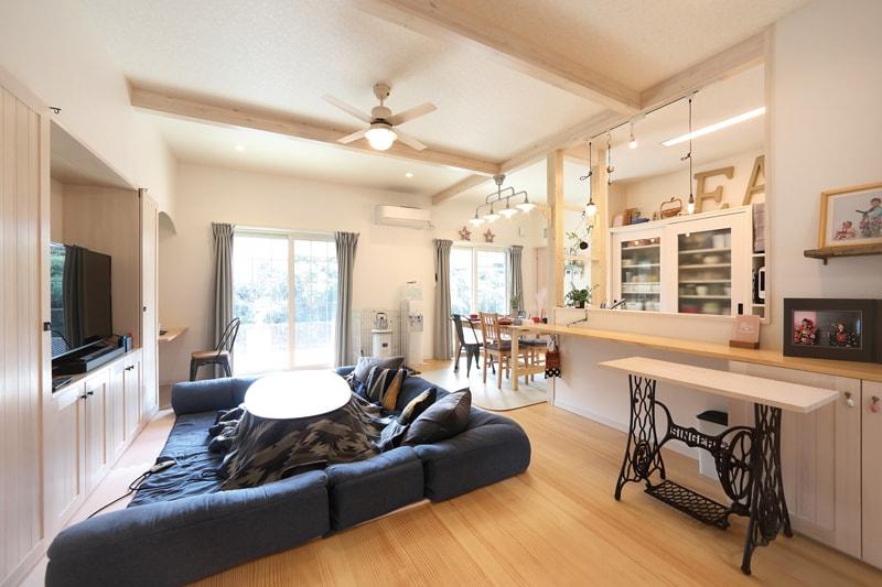【インデュアホーム】<br>光と風を暮らしに取り込んだ<br>開放的なサーファーズハウス