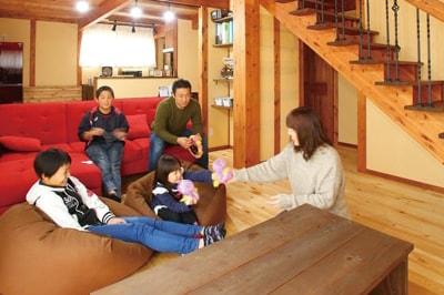 【フルマークハウス 吉田建設工業】<br>「暮らしを真ん中」に据えた家づくりで<br>本当の豊かさや、心のゆとりを提案