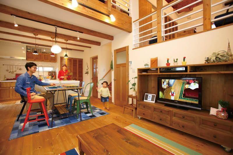 【大栄ハウジング】<br>毎日をワクワクでいっぱいに<br>趣味も家族の時間も楽しむ家