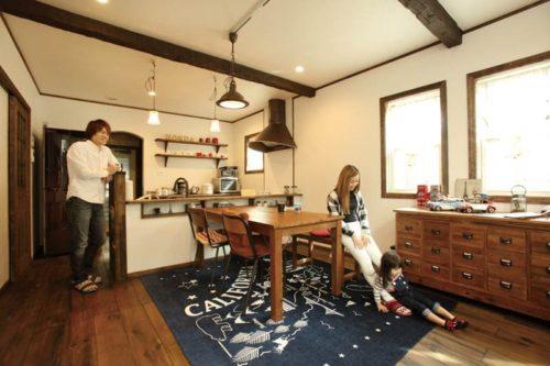【インデュアホーム】<br>可愛く温かな雰囲気の<br>カフェ風インテリア